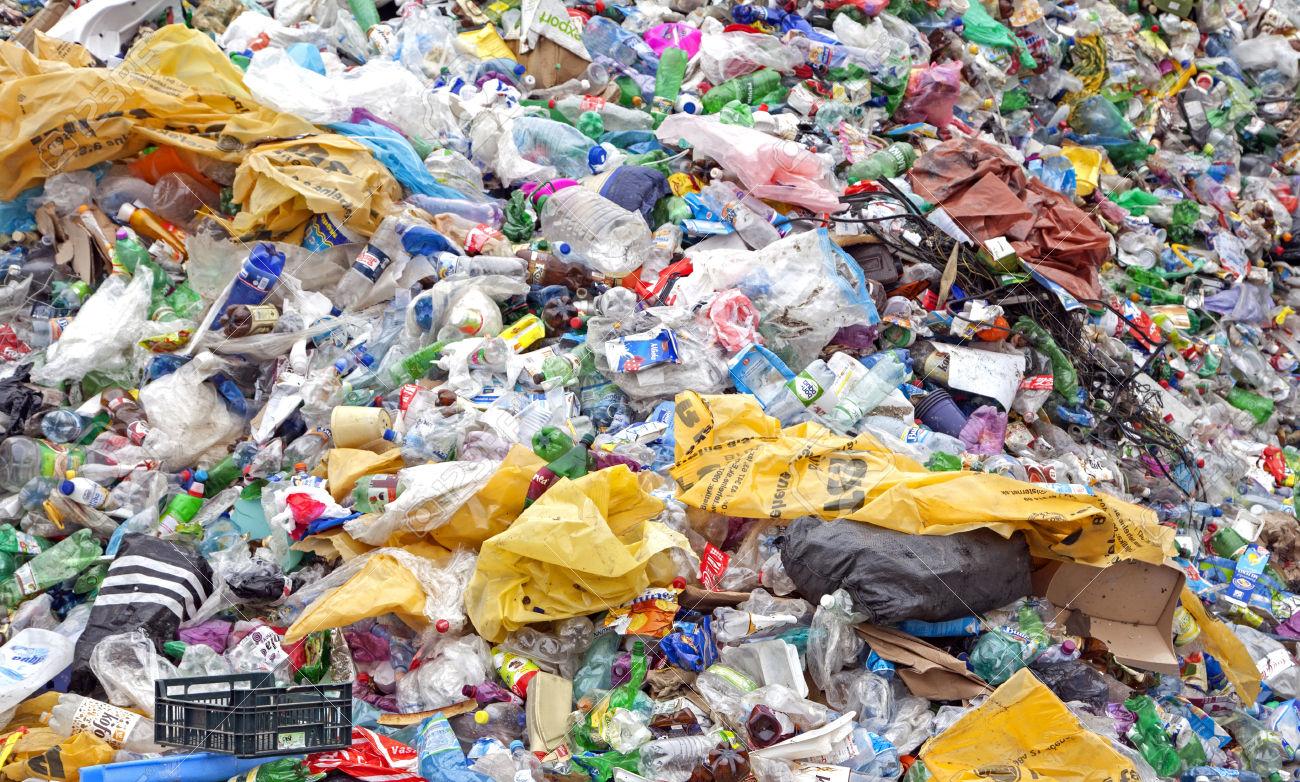 plastica discarica