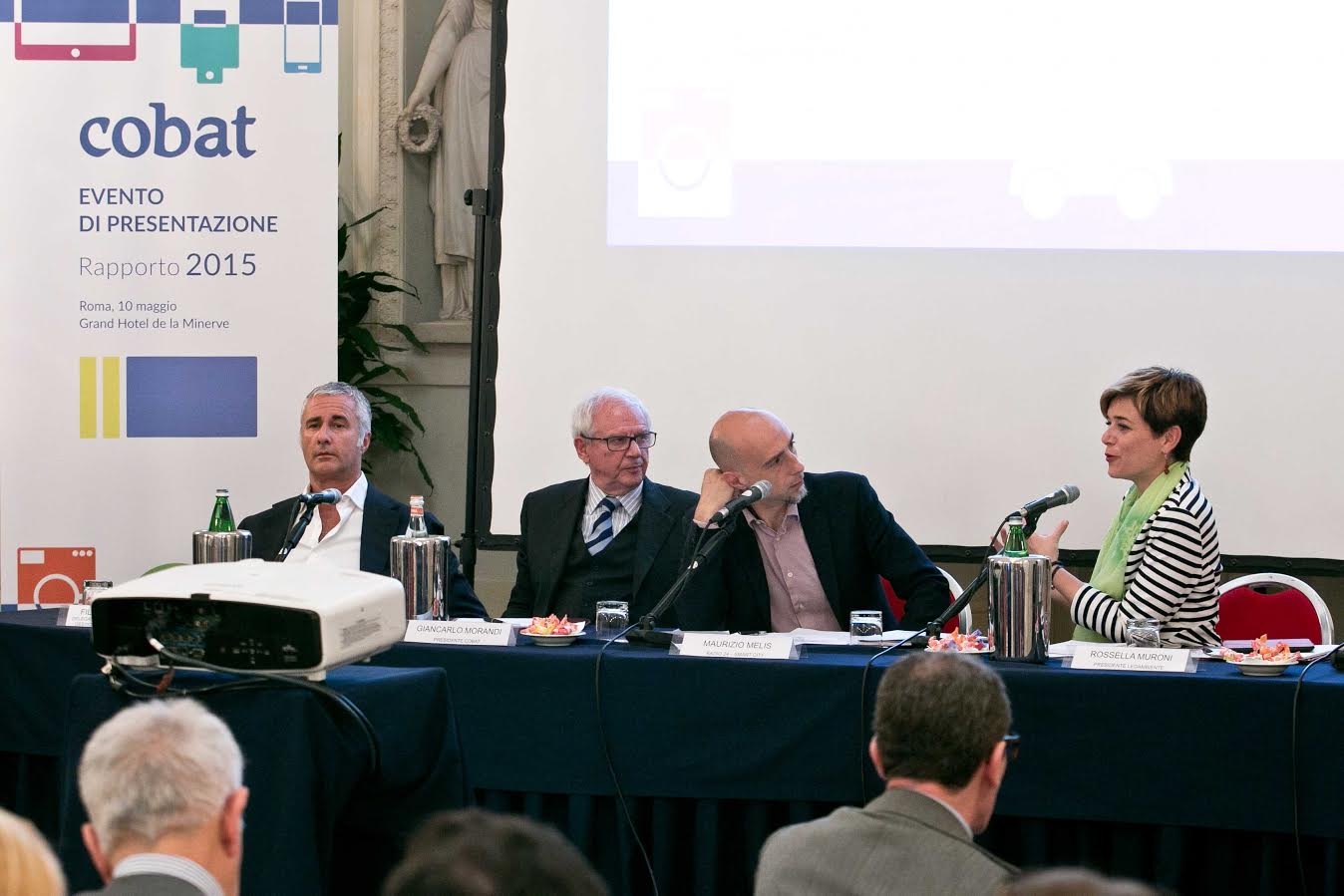 COBAT Giancarlo Morandi presidente Cobat e i relatori