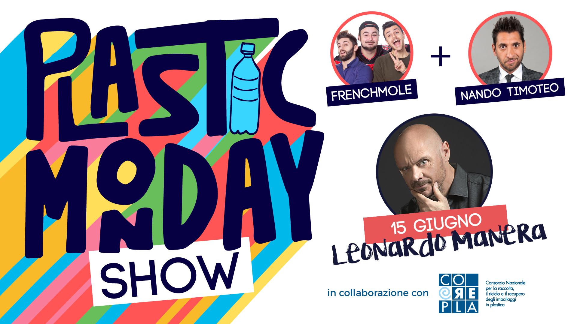 Plastic Monday Show 15 giugno